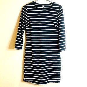 Old Navy Black & White striped long sleeves Medium